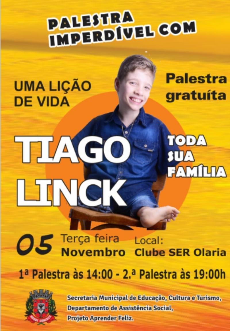 Administração Promove Palestra Com Tiago Linck